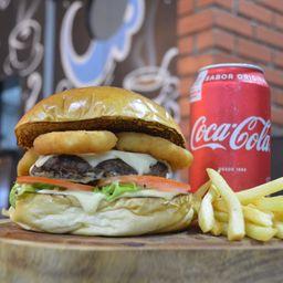 Combo Onion Burger