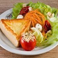 Quiche e Salada
