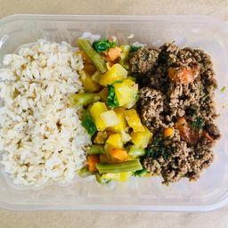 Carne Moída com Legumes 370g