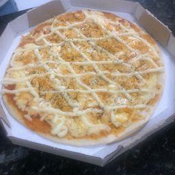 Pizza de Frango com Requeijão Cremoso