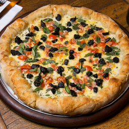 Pizza de Alho Negro - Individual