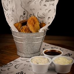 Batatas Chips Onduladas