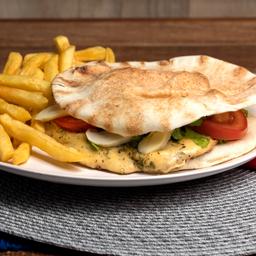Beirute Champignon Chicken e Fritas