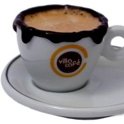 3 Cappuccinos Quentes e 3 Brownies