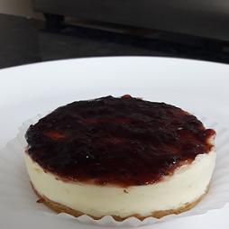 Cheesecake cobertura frutas vermelhas