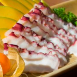 Sashimi de Polvo - 5 Peças
