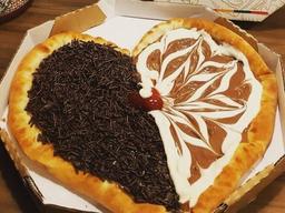 Pizza de Coração - Grande