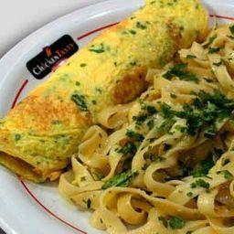 Omelete Especial com Talharim Opção 3