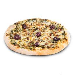 Pizza de Escarola com Mussarela