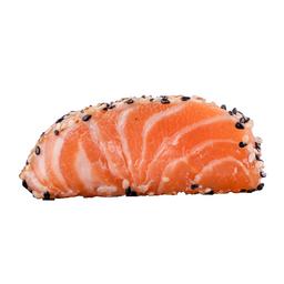 Sashimi Salmão na Crosta de Gergelim (5 Peças)