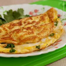 Omelete com 3 Ovos