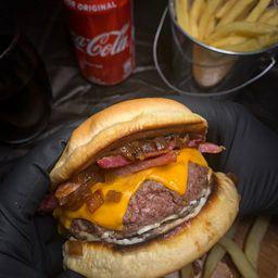 Bacon Perigoso+fritas+refri
