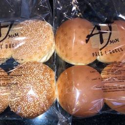 Pão de Hambúrguer - 4 Unidades