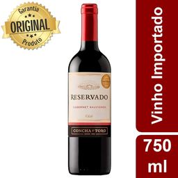 Vinho Importado Concha y Toro 750ml