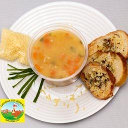 Sopa de Legumes e Frango - 500 ml