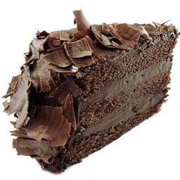 Fatia Mousse de Chocolate meio amargo