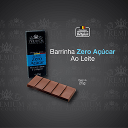 Barrinha Belga Zero Açúcar - 25g
