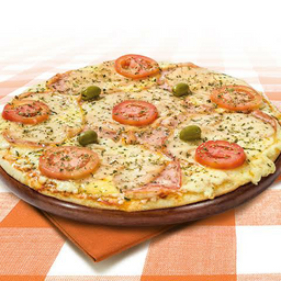 Combo: Pizza + sobremesa.