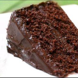 Bolo de Chocolate - Fatia