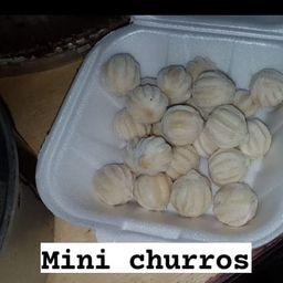 25 Unidades Mini Churros No Copo M