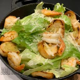 Salada Caesar de Camarão