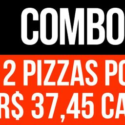 Compre 2 Pizzas de 35 Cm e Pague R$54.90