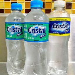Água Mineral Cristal 510 ml