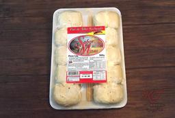 Espeto pão alho apimentado c/ queijo