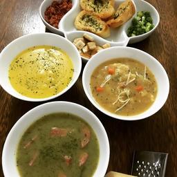 Sopa de Carne Moída com Legumes