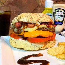 Burger Duplo Gourmet