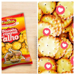 Biscoito Erica Alho 300g