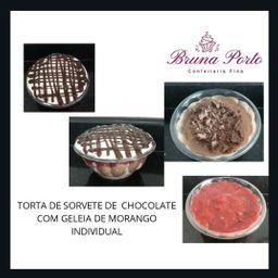 Torta de Sorvete de Chocolate - 450ml