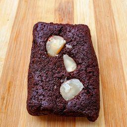 Barrinha de Cacau 70% com Castanha (Brownie Vegano)