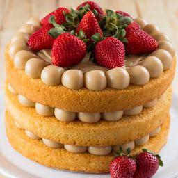 Make a Cake Super Morango