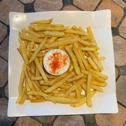 Fritas + pasta alho