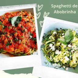 Spaghetti de Abobrinha Low Carb
