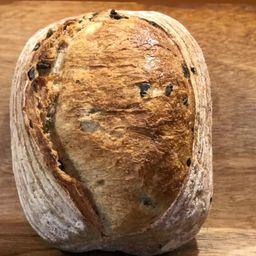 Pão Levain de Azeitonas