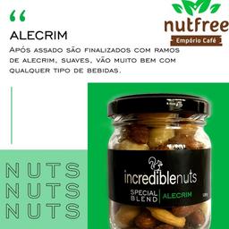 Incredible Nuts 120g - Alecrim