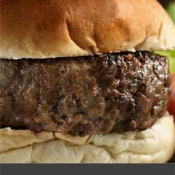 Hambúrguer artesanal.