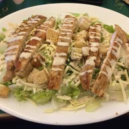 Caesar salad com frango