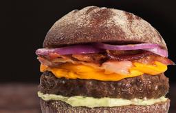Australian Thickburger C/ Fritas (170 G. de Carne)