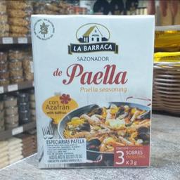 Especiarias para Paella La Barraca