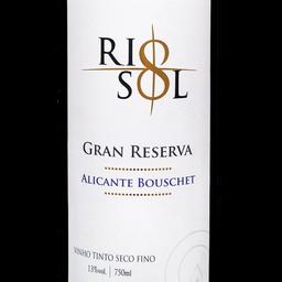 Vinho rio sol alicante bouschet 750ml