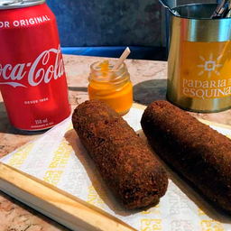 2 Croquete de Carne + Coca Cola