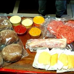 Kit Burger Tradicional