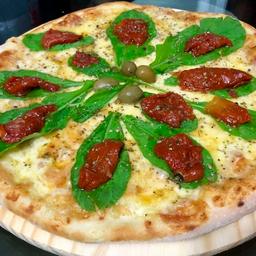 Pizza de Tomate Seco com Rúcula - Grande