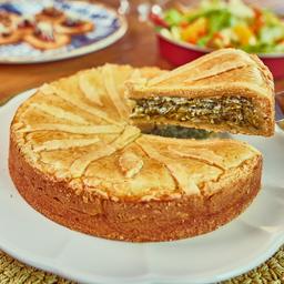 Torta de espinafre grande