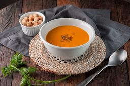 Sopa De Abóbora Com Curry