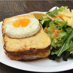 Croque + Salada