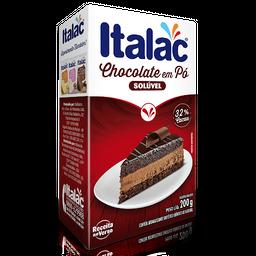 Chocolate em pó 32% cacau Italac